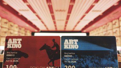 Darujte svoje najdraže filmoljupce novim darom iz Art kina – Odnedavno je dostupna 'Poklon artica'