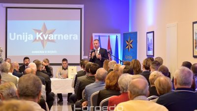 FOTO Marko Boras Mandić novi predsjednik Unije Kvarnera: Želimo sudjelovati u stvaranju politika na svim razinama