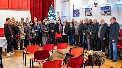 Općina Viškovo organizirala tradicionalni prijem za obitelji poginulih branitelja iz Domovinskog rata