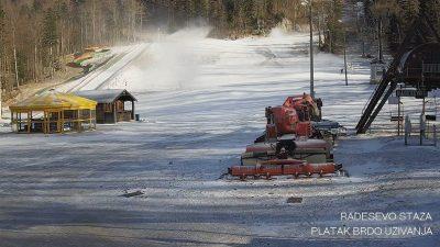 Investicija vrijedna 23 milijuna kuna puštena u pogon – Krenulo testiranje sustava za umjetni snijeg na Platku