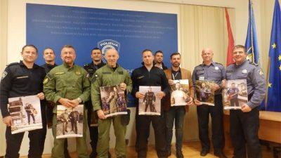 """U OKU KAMERE Predstavljan humanitarni kalendar """"Policajci-Riječki dečki 2020"""""""