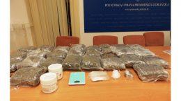 Rezultati opsežne akcije PU Primorsko-goranske: Zaplijenjeno gotovo 25 kilograma marihuane, privedene dvije osobe
