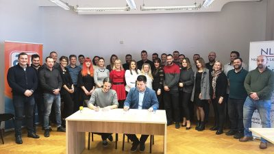 Osnovan 'Pokret za mlade' – Akcija mladih i Nezavisna lista mladih potpisali sporazum o suradnji