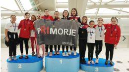 Mladi Primorjaši na regionalnom prvenstvu doplivali do čak 111 medalja