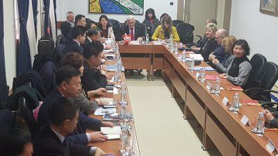 Poslovna delegacija kineskog grada Daliana u posjeti HGK Županijskoj komori Rijeka
