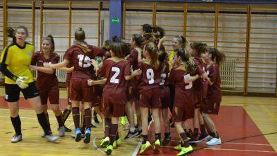 Ženski nogometni klub Rijeka osvojio jak međunarodni turnir Agram u kategoriji U-15