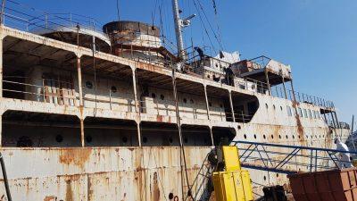 FOTO Napreduje obnova broda Galeb, bivša Titova ploveća rezidencija sprema se za novi život muzejskog postava