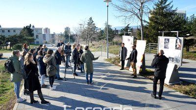FOTO Danas se na panoima na Kampusu otvara nova izložba: 'Kultura sjećanja i Španjolski građanski rat'