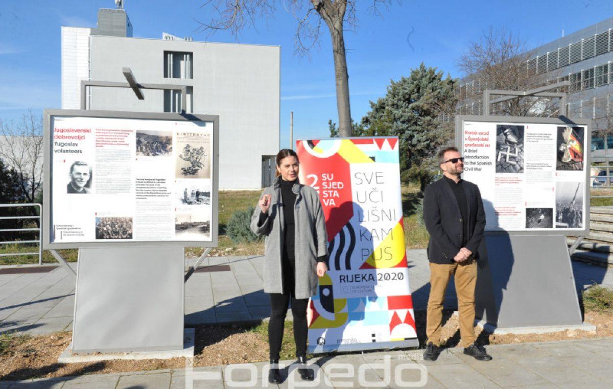 Na Kampusu otvorena nova izložba 'Kultura sjećanja i Španjolski građanski rat'