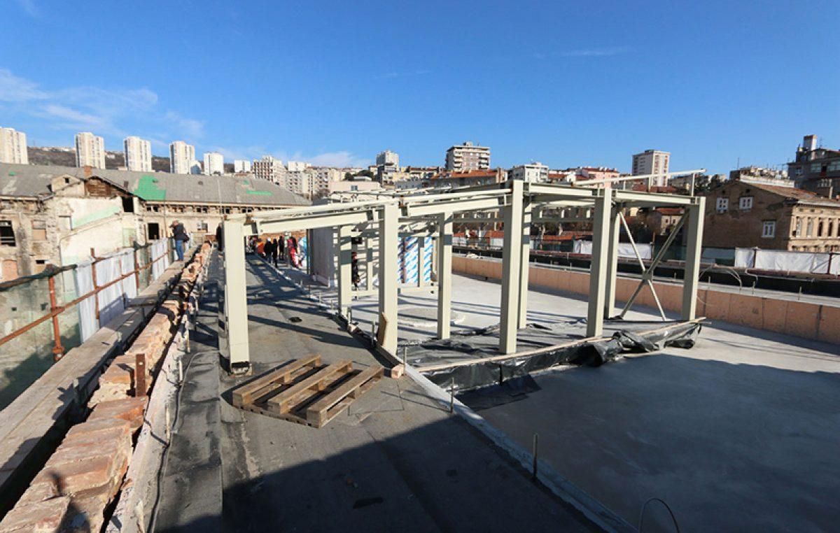 Obilazak gradilišta Ciglene zgrade u kompleksu Benčić – Dječja kuća u završnoj fazi građevinskih radova