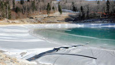 Na Platku uspješno testiran sustav zasnježenja, umjetni snijeg odlične kvalitete