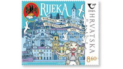 Hrvatska i Irska pošta u opticaj puštaju poštanske marke Rijeke i Galwaya, dviju Europskih prijestolnica kulture