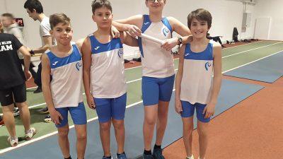 Mlađi kadeti Kvarnera na Državnom dvoranskom prvenstvu u atletici osvojili četiri medalje