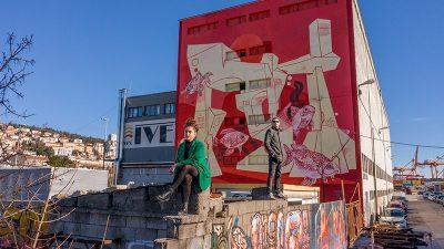 Oslikavanjem fasada u Vodovodnoj i Ružićevoj ulici nastavlja se program Rijeka murala