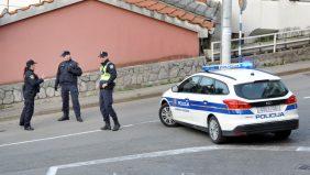 Triler na Kikovici: Probio rampu na kontrolnom punktu, policija mu nakon potjere pronašla drogu