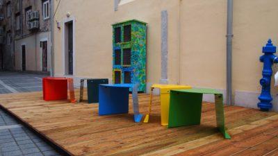 """Projektom """"Trg svete Barbare djeci"""" poznati će se trg u centru grada opremiti klupicama i ormarićima s knjigama za čitanje"""