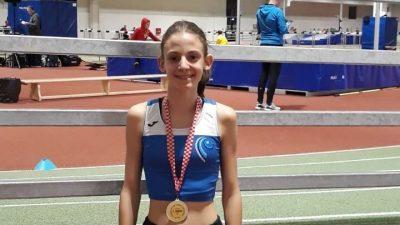 Mlade atletičarke Kvarnera Sandra Žilić i Elide Babić okitile se titulama kadetskih prvakinja Hrvatske