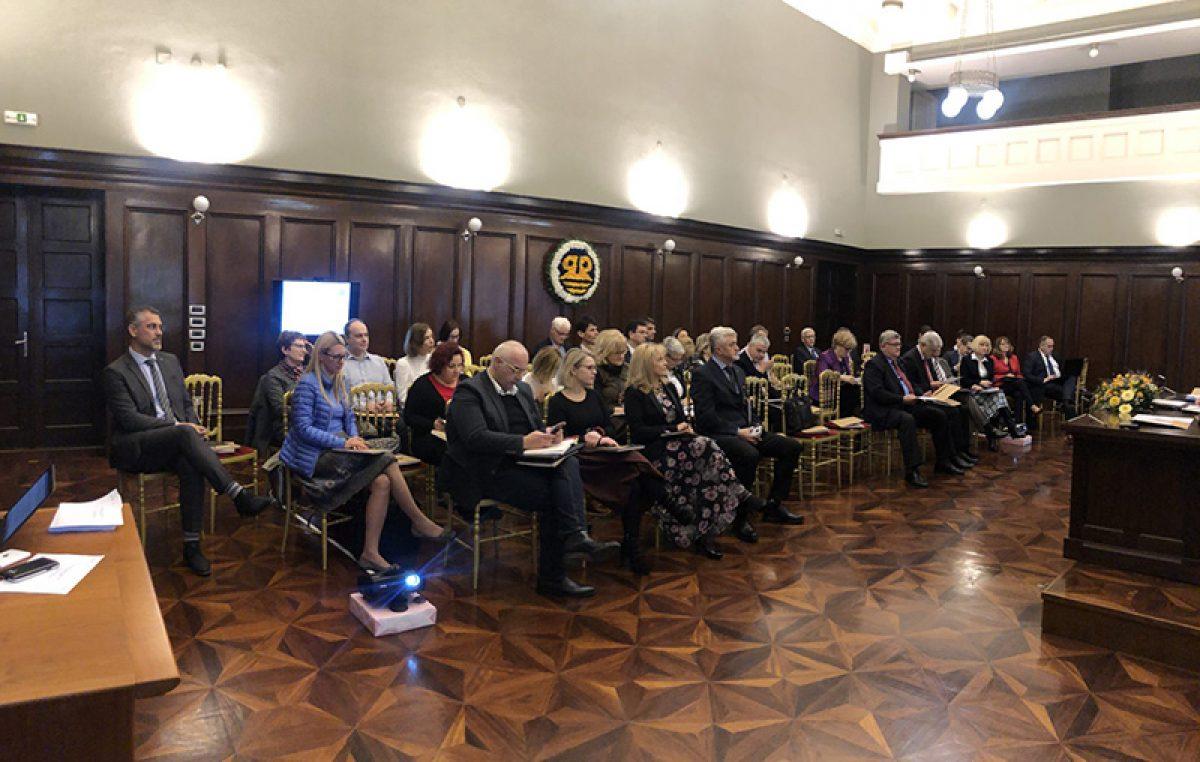 Izrada nove četverogodišnje strategije Sveučilišta u Rijeci tema zajedničke sjednice Senata i Savjeta
