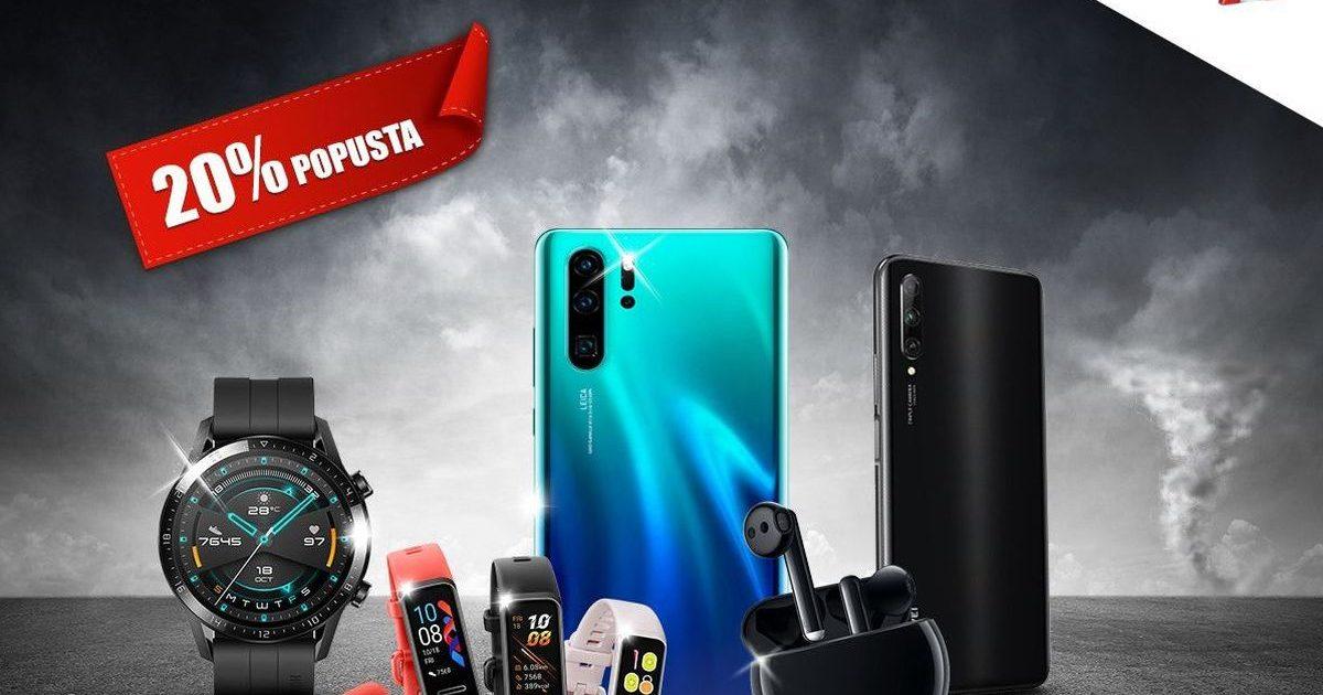 Iskoristi priliku za super uređaj po super cijeni: Mobilcentar A1 nudi 20 posto popusta na Huawei telefone i satove
