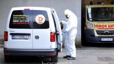 Sigurnost prije svega – Pogledajte postupak čišćenja kola hitne pomoći nakon prijevoza osobe na koju se sumnja da je zaražena korona virusom