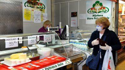 Građani krenuli po 'špežu' na tržnice, ali nema gužve – Ribarnica zatvorena nekoliko sati nakon otvaranja