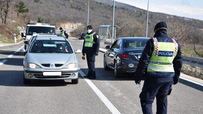 """Tjedno izvješće o prometu – Usred bijela dana na kontrolnom punktu u Jadranovu """"napuhao"""" više od 2 promila"""