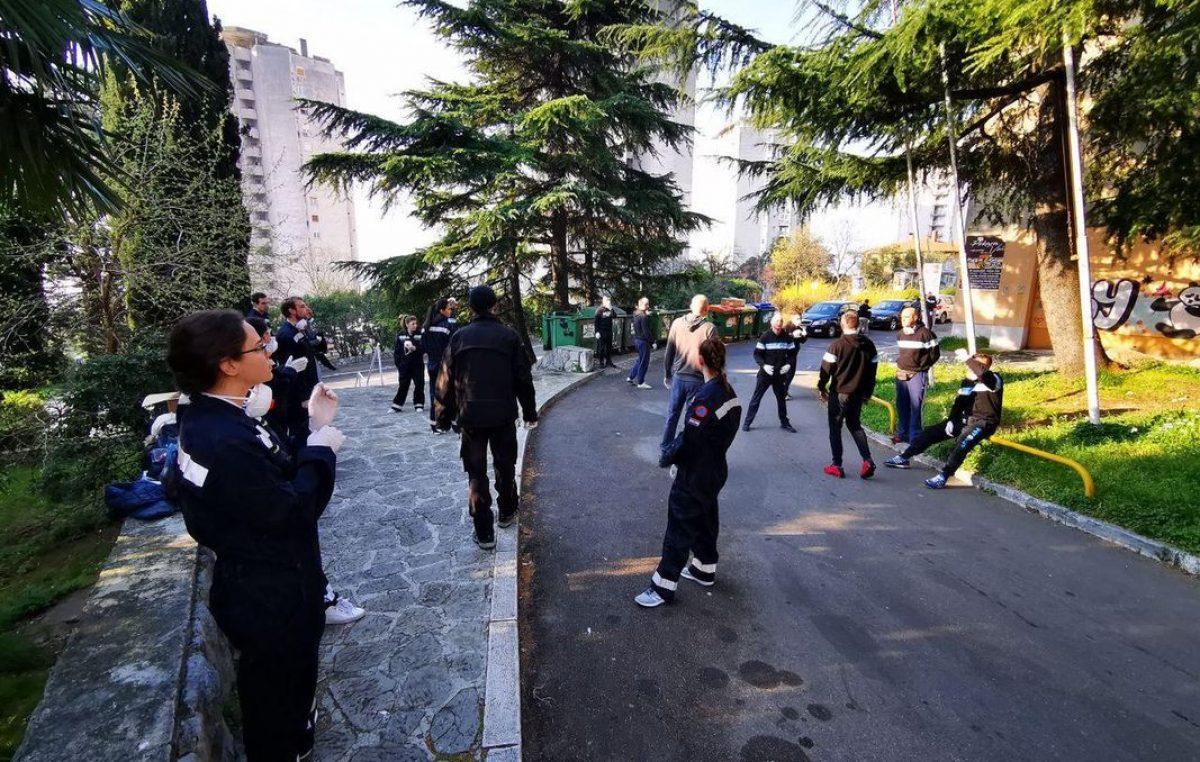 FOTO Solidarnost u teškim vremenima: Studenti prepustili sobe, Armada pomogla iseliti dio Doma Ivan Goran Kovačić za potrebe karantene