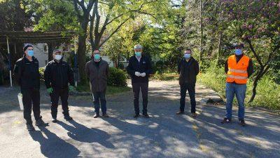 Župan Komadina obišao pripadnike Civilne zaštite Općine Kostrena