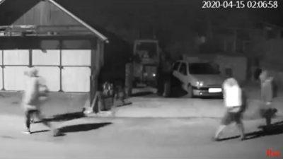 VIDEO Snimka noćnog prolaza migranata kroz Klanu uzburkala duhove na društvenim mrežama