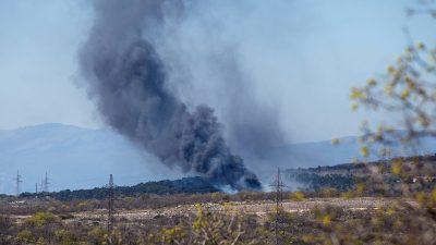 VIDEO Buknuo veliki požar otvorenog prostora na području Urinja
