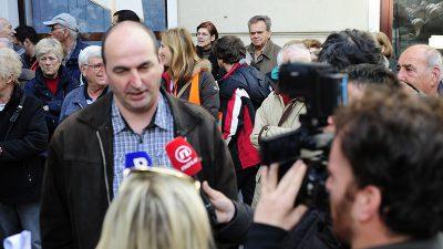 Obersnel nije želio odgovoriti na Kukuljanovo pitanje što je radio s Pavičićem na Korčuli