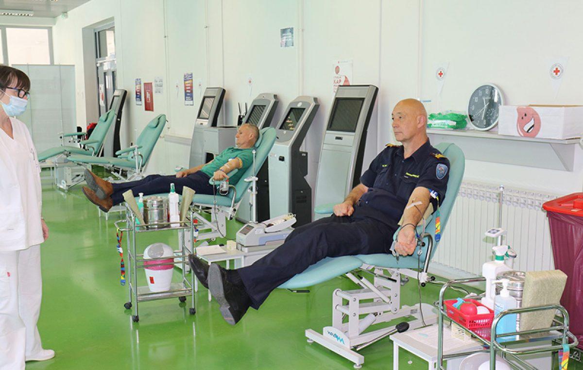Akcija darivanja krvi održat će se ovog ponedjeljka u Vatrogasnom domu Vežica