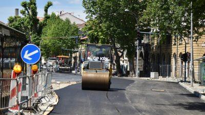 FOTO Započelo asfaltiranje Krešimirove ulice