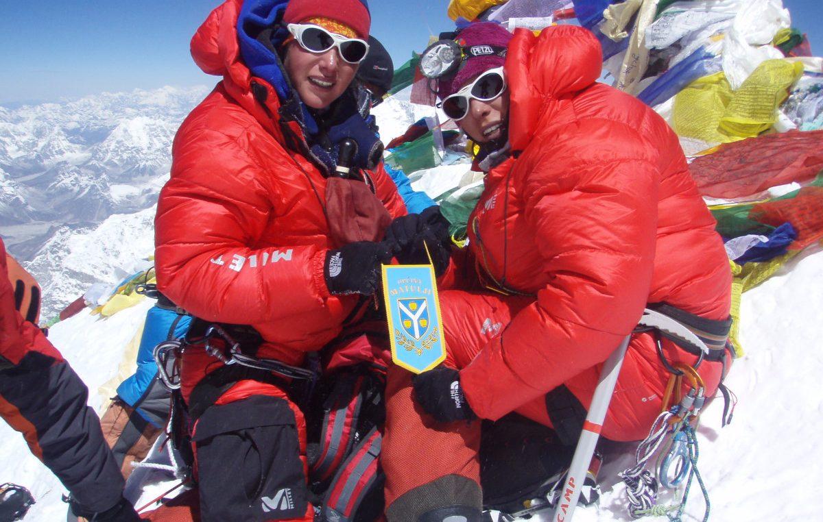 FOTO VREMEPLOV Na današnji dan Iris i Darija Bostjančić kročile su na krov 'svijeta' Mont Everest 2009.