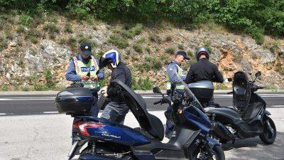 Policija u sklopu Europskog tjedna mobilnosti kontrolirala motocikliste i mopediste – Tijekom provođenja akcije na području M. Drage teško ozlijeđen motociklist