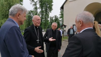 Apostolski nuncij Giorgio Lingua prvi puta posjetio Gorski kotar
