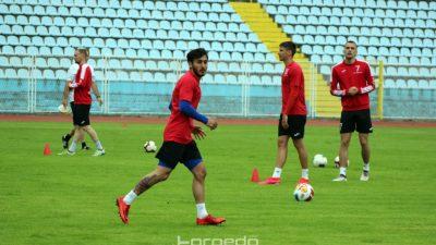 FOTO Prvi trening nakon korona pauze nogometaši Orijenta odradili na Kantridi