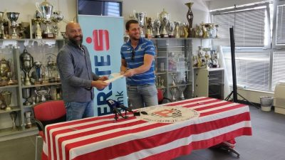Centar Primorja EB Lovro Paparić produžio vjernost klubu na još 2 godine