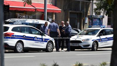 FOTO Evo što je uzrokovalo akcijske scene: Objavljeno policijsko izvješće o jučerašnjoj potjeri centrom grada