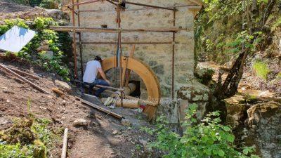 FOTO/VIDEO Mitski park Trebišća dobio novu atrakciju – Obnovljeni mlin iz 16. stoljeća @ Mošćenička Draga