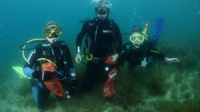 U OKU KAMERE Gotovo 200 ljudi uključilo se u akciju čišćenja podmorja Eko Kostrena 2020