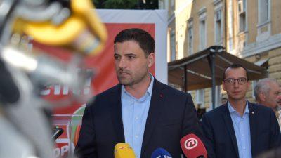 FOTO Bernardić: U 8. izbornoj jedinici očekujemo maksimalan broj mandata