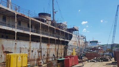 Započeli radovi na obnovi Galeba