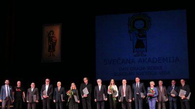 Na svečanosti u riječkom HNK dodijeljena javna priznanja Grada Rijeke – Anton Škrobonja dobitnik nagrade za životno djelo