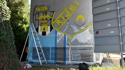 U OKU KAMERE Eduardo Filipović započeo s izradom murala posvećenog Goranu Brajkoviću @ Volosko