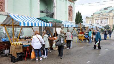 Otvoren natječaj za zakup prodajnih mjesta na centralnoj gradskoj tržnici