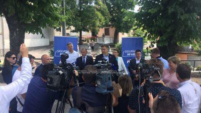 Plenković: Otvaranje granica s BiH nema veze s izborima; Boras Mandić: Moramo zastupati jedinstveni stav EU