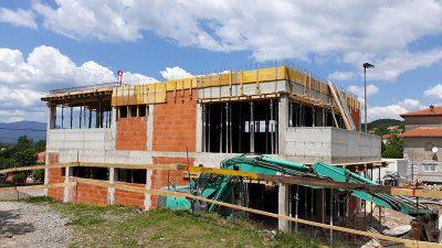 Radovi na izgradnji Područnog vrtića Marčelji idu po planu