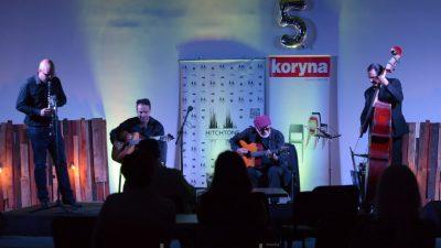 FOTO/VIDEO Vrhunskom svirkom Oridano Gypsy Jazz Band proslavio deseti rođendan, a program Jazz petkom na Zametu peti