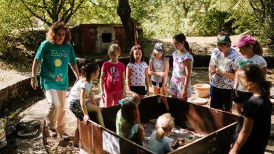 Pet radionica za djecu kao zagrijavanje za Dječji festival Tobogan